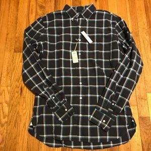 J Crew Button Down Long Sleeve Shirt Sz Large Tall